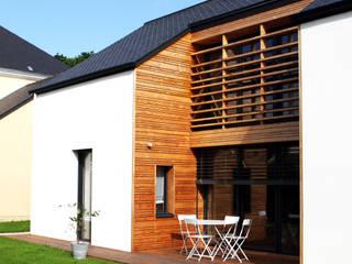 Maison bois G2 par yg-architecte Moderne