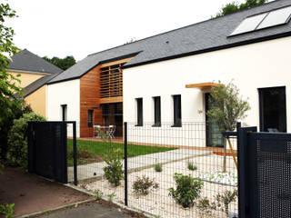 Maison bois G2 par yg-architecte Classique