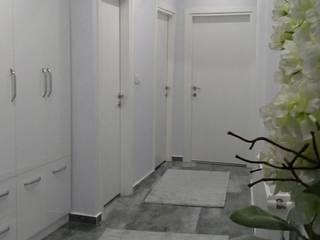 Modern Corridor, Hallway and Staircase by rwiçmimari Modern