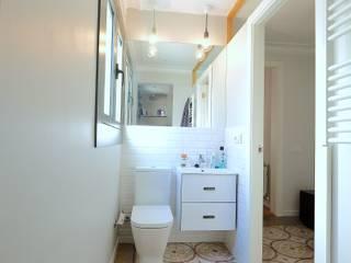 Baño: Comedores de estilo mediterráneo de GPA Gestión de Proyectos Arquitectónicos  ]gpa[®