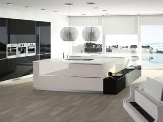 Cozinha Cubik:   por Cozinhas MICRA, SA,Minimalista