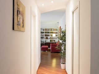 Angelo Talia Modern Corridor, Hallway and Staircase