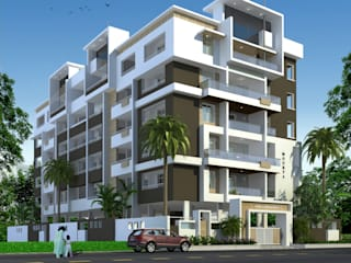 Mourya Galaxy:  Houses by Mourya Constructions,