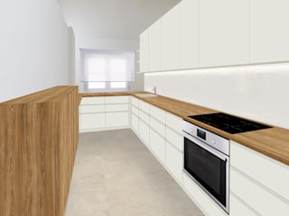 Apartamento dM:   por dM arquitetura & interiores