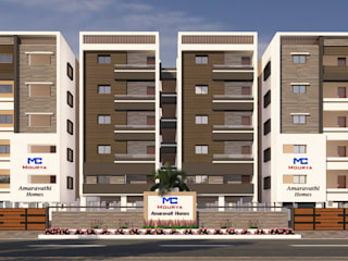 Mourya Amaravathi Homes Classic style houses by Mourya Constructions Classic