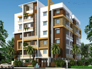 Mourya Empire:  Houses by Mourya Constructions,