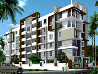 Mourya Classic Classic style houses by Mourya Constructions Classic