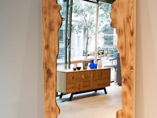 Este Mimarlık Tasarım Uygulama San. ve Tic. Ltd. Şti. – Masif Meşe Mobilyalar: modern tarz Yatak Odası