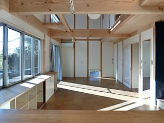 南傾斜の小金井の家 の 氏原求建築設計工房