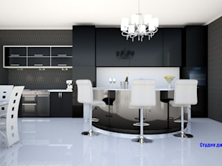 Kitchen in art deco style by 'Design studio S-8' Classic