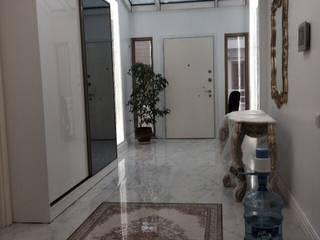 Rustic style corridor, hallway & stairs by rwiçmimari Rustic