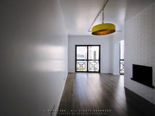 Sala de estar: Salas de estar  por NOVACOBE - Construção e Reabilitação, Lda.