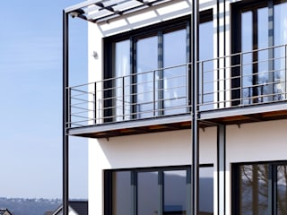Terrasse und Balkon:  Garten von Architekten BDA Naujack Rind Hof