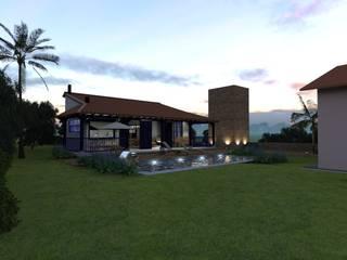 Casa de campo: Casas  por D'Sapê - Arquitetura de interiores