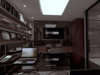 Sala de advocacia: Edifícios comerciais  por D'Sapê - Arquitetura de interiores