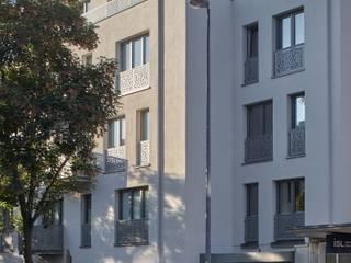 Bodentiefe Fenster:  Häuser von Architekten BDA Naujack Rind Hof
