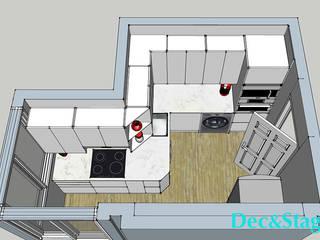 Propuesta para la renovación de la cocina.:  de estilo  de Dec&Stage