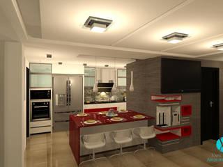 Cocinas:  de estilo  por Vanguardia Arquitectónica