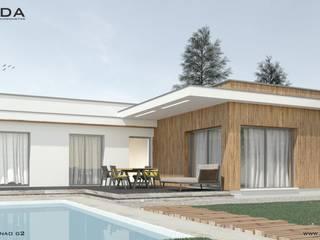 Projekt domu Dom na MINDANAO G2 od DUDA Architektura Budownictwo Nowoczesny
