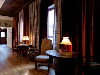 Fensterdeko:  Veranstaltungsorte von RÄUME + BAUTEN