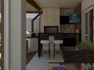 Espaço Gourmet | TZ Casas modernas por CMS.ARQ - Camila Machado Salmória Moderno