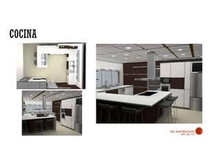 Cocinas modernas: Ideas, imágenes y decoración de MAS ARQUITECTURA1 - Arq. Marynes Salas Moderno