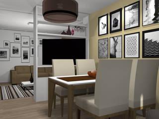 غرفة السفرة تنفيذ RHAJA ARQUITETURA