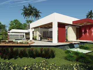 RESIDENCIA F & N: Casas  por Sólida Projetos