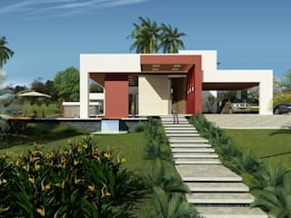 RESIDENCIA F & N Casas modernas por Sólida Projetos Moderno