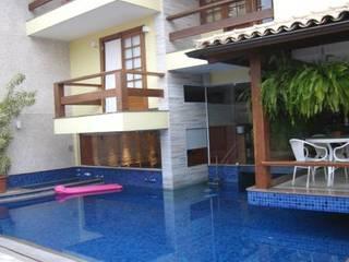 Residencia Recreio: Casas  por Maria Dulce arquitetura,Moderno