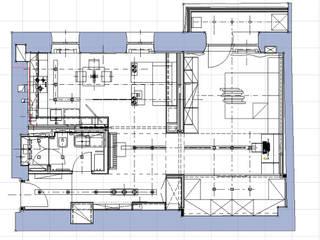 Однокомнатная квартира-трансформер:  в . Автор – Архитектурное бюро Лены Гординой