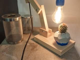 BETONhane – özel ahşap aydınlatma tasarım ürünleri: minimalist tarz , Minimalist