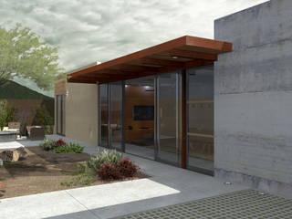 RESIDENCIA IBAR: Casas de estilo  por COTA ESTÉVEZ ARQUITECTURA