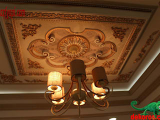 DEKOROS – Saray Tavan Göbek ve Dekorasyon Profilleri:  tarz