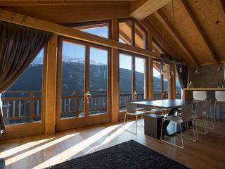 BEARprogetti - Architetto Enrico Bellotti Moderne Wohnzimmer Holz