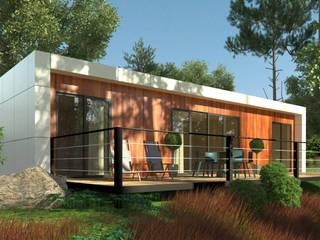 Casas modernas de GRUPO EUROCASA MODULAR Moderno