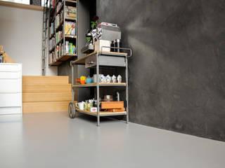Betonlook Gietvloer bij Cook Your Life | Motion Gietvloeren:   door Motion Gietvloeren, Industrieel