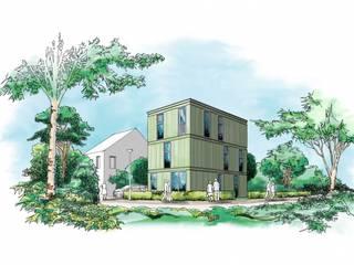 Datcha 2:  Huizen door Wessel van Geffen Architecten