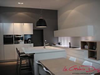 Mrs Bordier:  Kitchen by La Galerie Design Studio