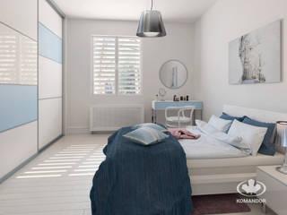 Skandinavische Schlafzimmer von Komandor - Wnętrza z charakterem Skandinavisch
