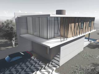"""RESIDÊNCIA 70"""" Casas modernas por Tangram ENG + ARQ + BIM Moderno"""