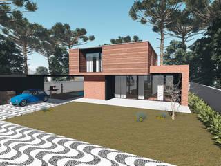 """RESIDÊNCIA LM"""" Casas modernas por Tangram ENG + ARQ + BIM Moderno"""