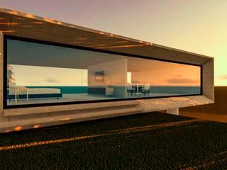 "STUDIO PRAIA"" Casas modernas por Tangram ENG + ARQ + BIM Moderno"