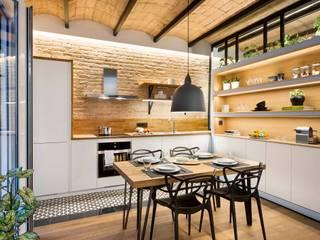 Egue y Seta Cocinas de estilo mediterráneo