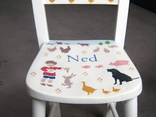 Child's Farm Chair: modern  by Anne Taylor Designs, Modern