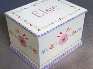 Gypsy Floral Toy Box:   by Anne Taylor Designs