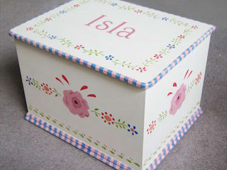 Gypsy Floral Toy Box: modern  by Anne Taylor Designs, Modern