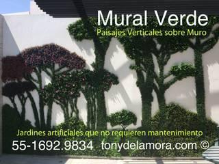 Mural con Bosque Artificial :  de estilo  por Mural Verde