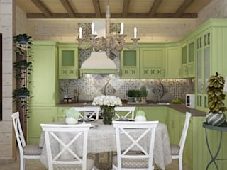 ДизайнМастер Country style kitchen Green