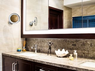Modern Bathroom by Nicole Cromwell Interior Design Modern